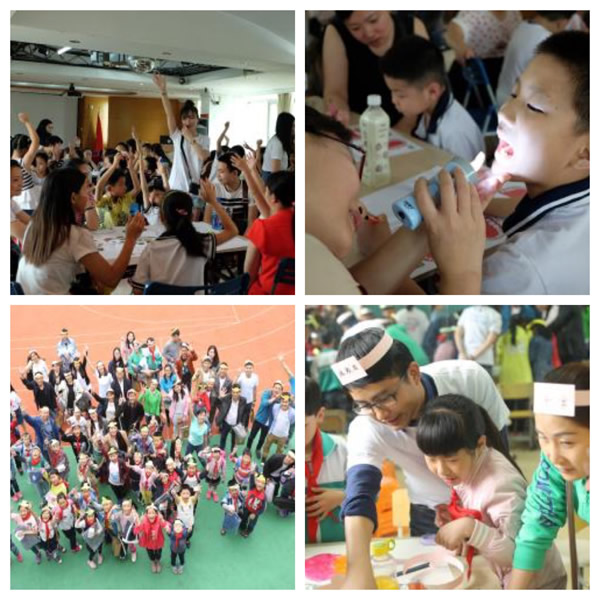 Mars Wrigley Confectionery Associates in China helped organize oral care classes for schools in Guangzhou and Shanghai (China) Web Version