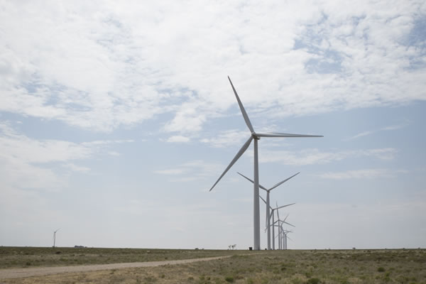 Mesquite Creek Wind Farm Turbines  (Lamesa, TX) Web Version