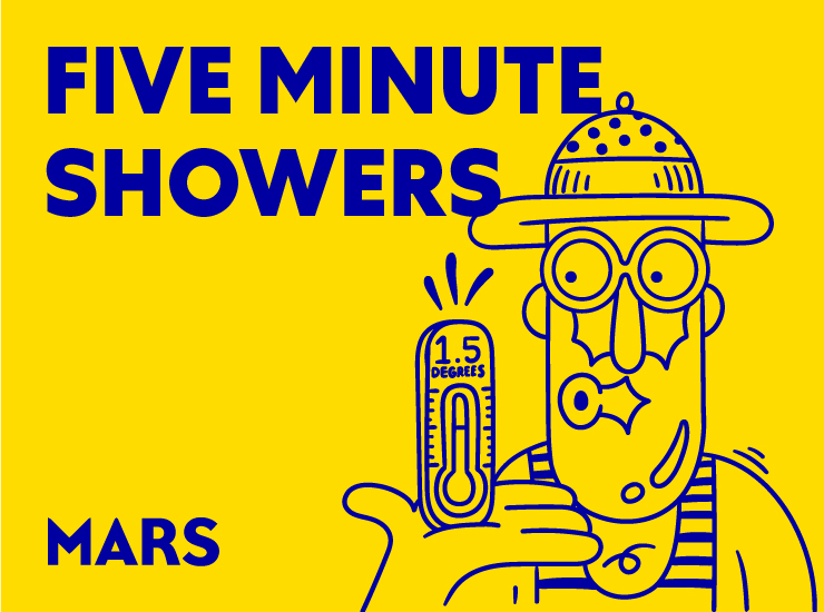 Say yes to five-minute showers