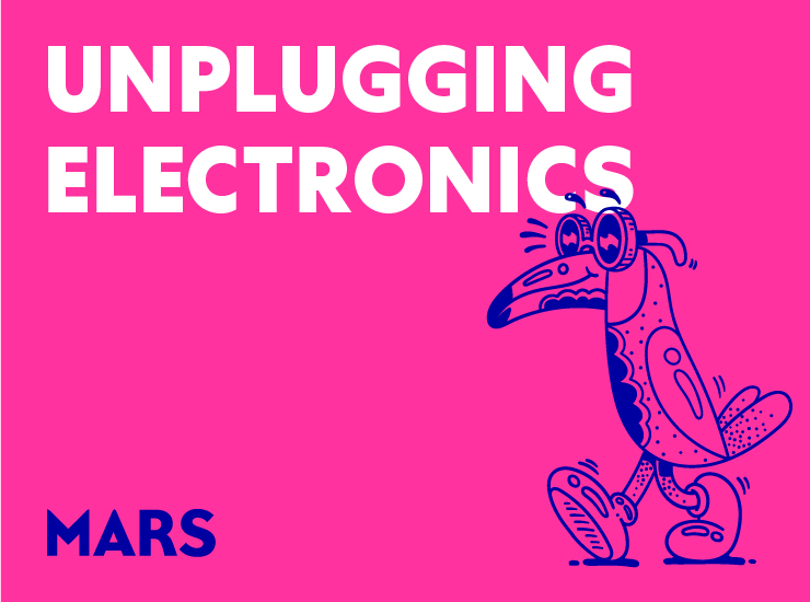 Say yes to unplugging electronics