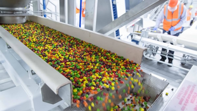 Skittles® on production line  (Yorkville, IL) Web Version